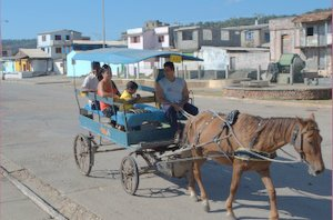 Paardentaxi in Baracoa