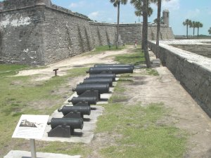 Fort Marion in St. Augustine